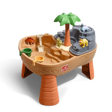 Step2 Dino Dig Sand & Water Table With Dinosaur Toys for
