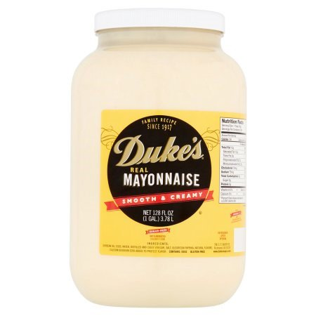 Dukes Real Mayonnaise  Smooth   Creamy  128 Fl Oz