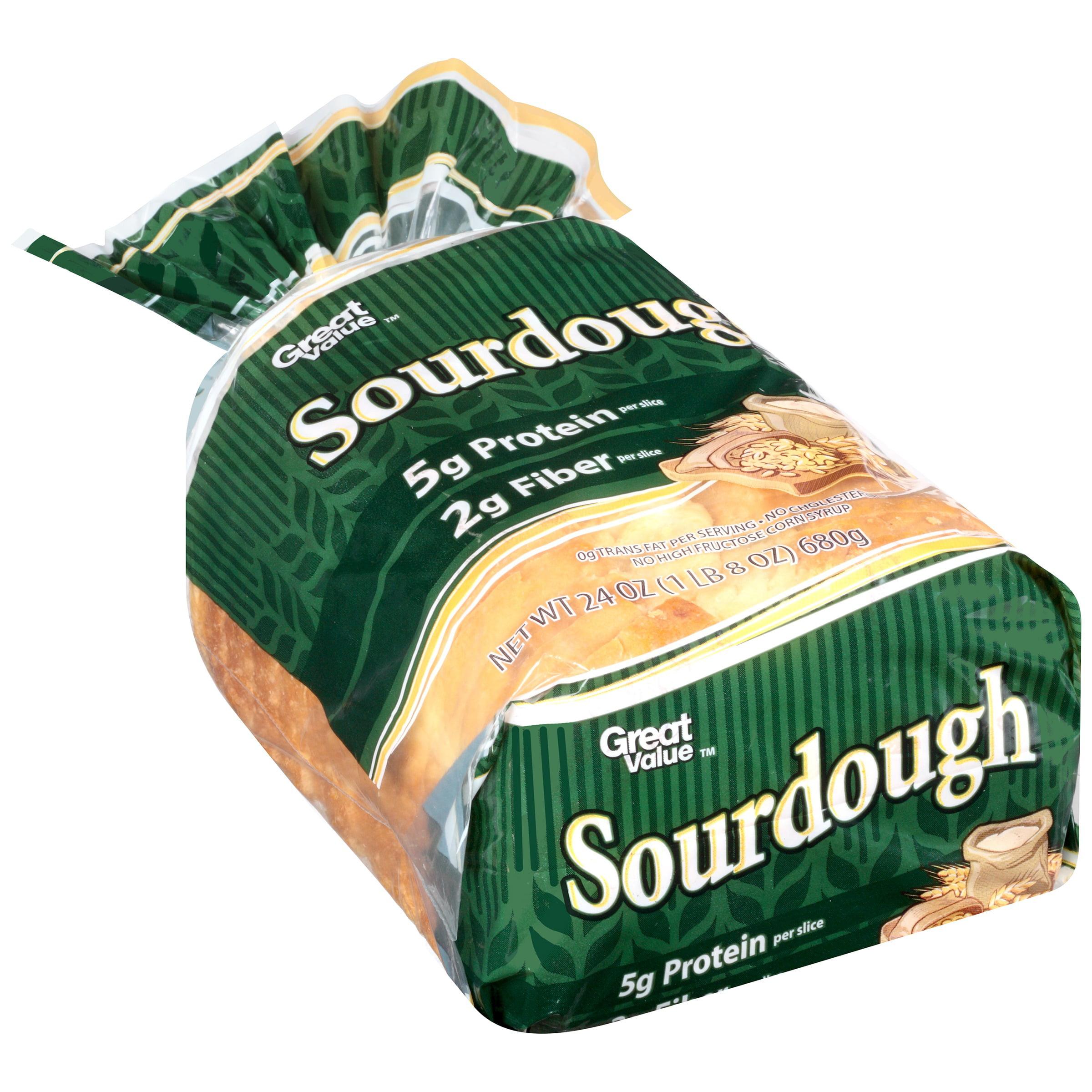 Great Value Sourdough Bread, 24 oz