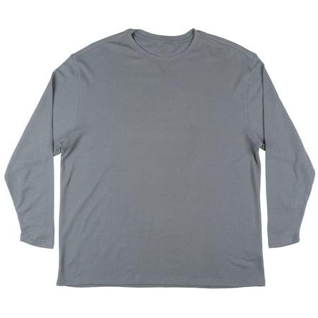 Gray Long Sleeve Shirt - Performance Brand Waffle Knit Long Sleeve Thermal Shirt Big and Tall Mens Grey