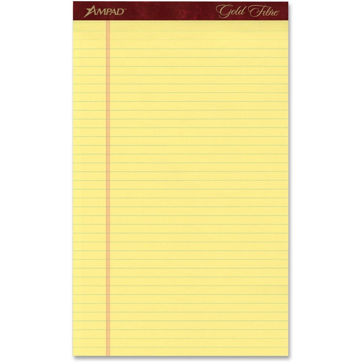 Ampad Gold Fibre Premium Jr. Legal Writing Pads by TOPS Products
