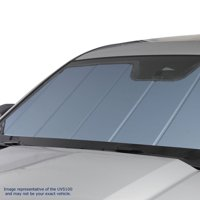 Windshield Sun Shade -UV11313BL fits Jeep Grand Cherokee Laredo,Limited,Overland,SRT,Summit,75th Anniversary,Trailhawk 2014,2015,2016,2017