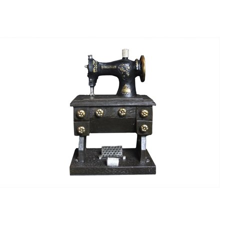 Adult Piggy Bank (Oh! Trendy™ Vintage Sewing Machine Adult Piggy Bank | Decorative Sewing Machine Coin Holder Home)