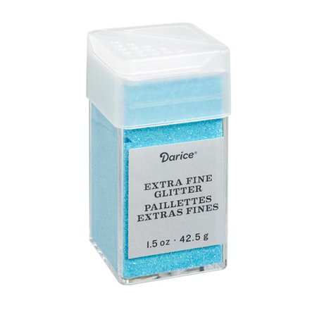- Extra Fine Glitter: Frost Blue, 1.5 ounces