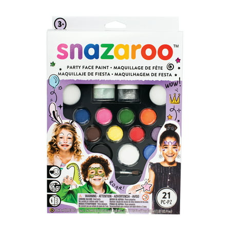 Snazaroo Face Paint Ultimate Party Pack (Snazaroo Face Painting Kit Halloween)