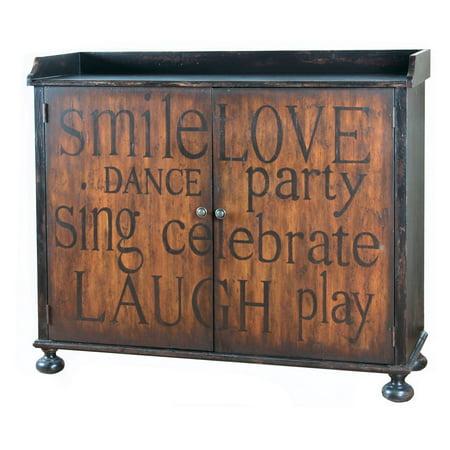 Pulaski Furniture Holiday Wine Cabinet
