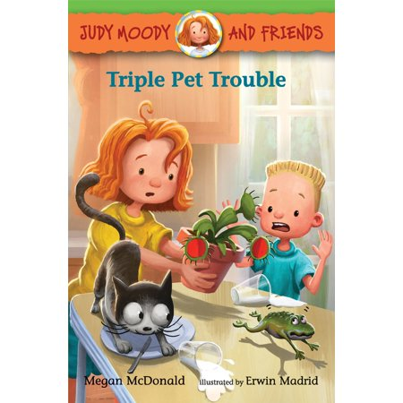 Judy Moody and Friends: Triple Pet Trouble (Paperback)