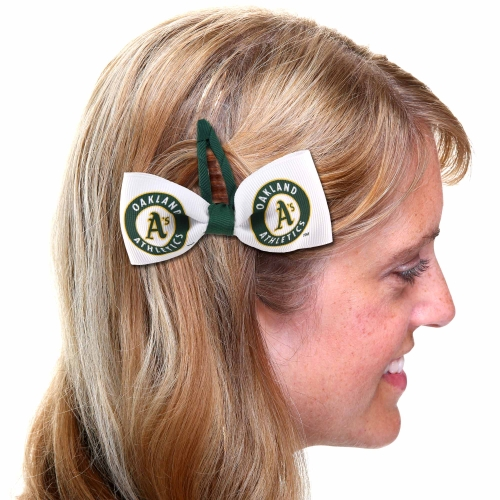Oakland Athletics 2-Pack Hair Clippies - No Size