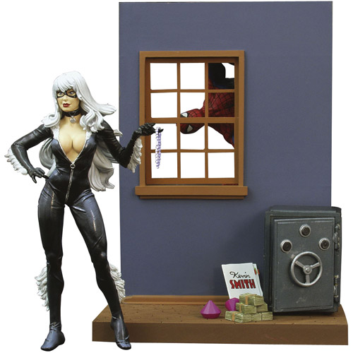 Diamond Select Toys Marvel Select Black Cat Action Figure