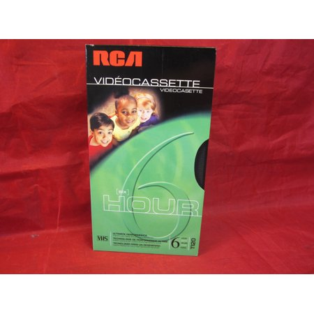 - RCA T-120 VHS Video Cassette - 120-Minute - 6 Hour Ultimate Performance