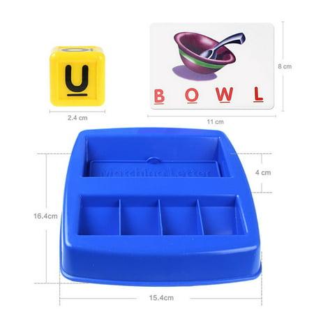 Alphabet Letter Word Spelling Game for Kids Preschooler Learning Educational - Halloween Indoor Games For Preschoolers