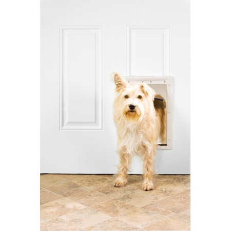 Premier Pet™ White Plastic Pet Door, -