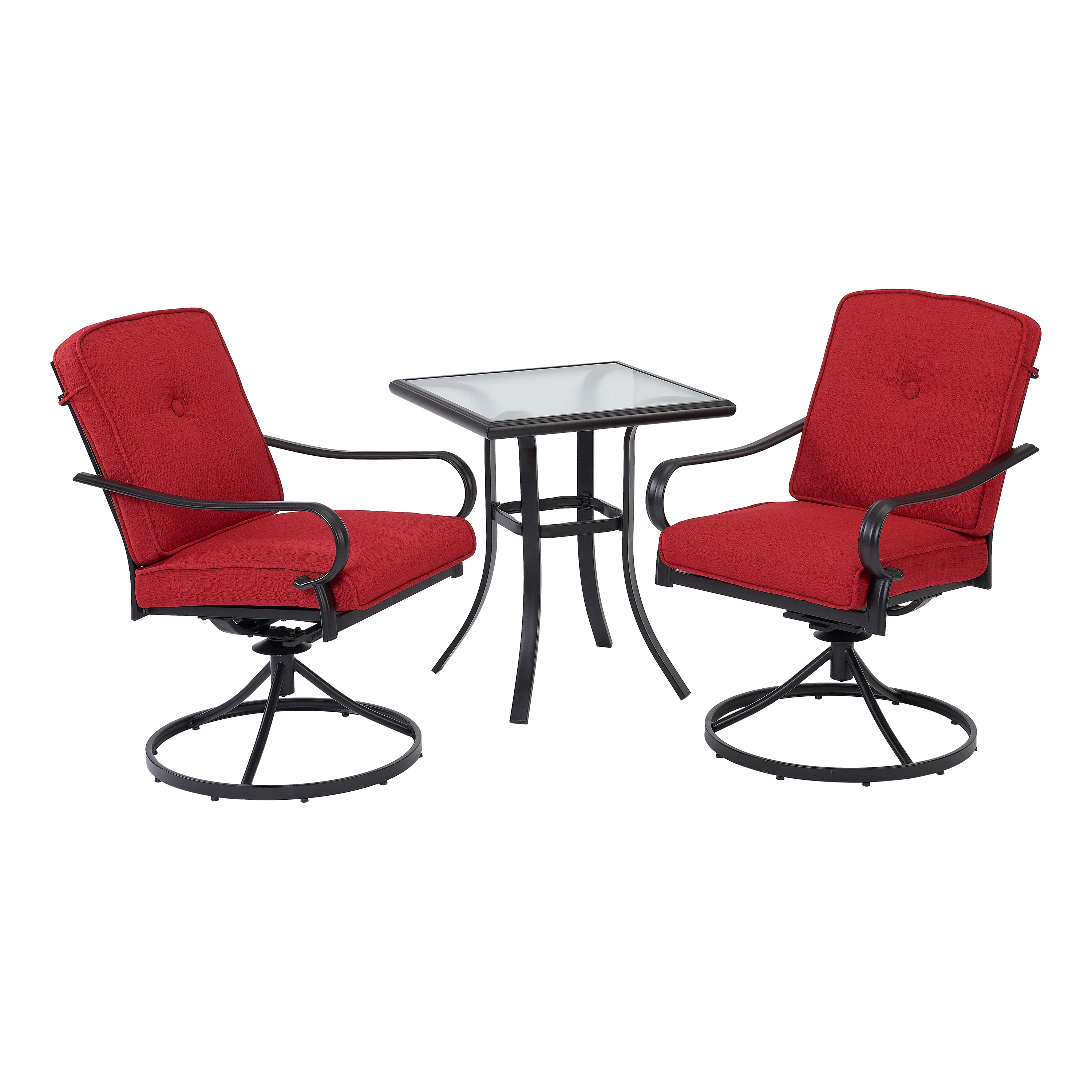 Superb Mainstays Carson Creek 3 Piece Patio Bistro Set With Brick Pdpeps Interior Chair Design Pdpepsorg