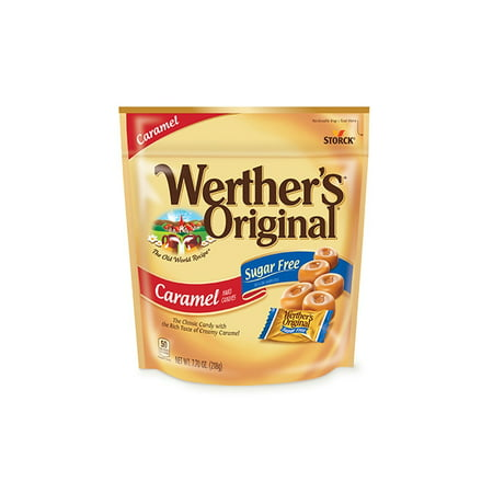 Werther's Original Sugar Free Caramel Hard Candies, 7.7 oz, 2 Pack](Werther's Hard Candy)