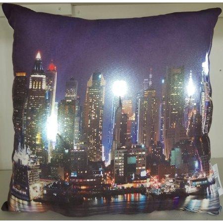 New York City Skyline Pillow 17