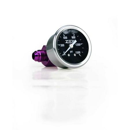 Zex Nitrous Oxide Systems 82324 Liquid Filled Nitrous Pressure Gauge Kit