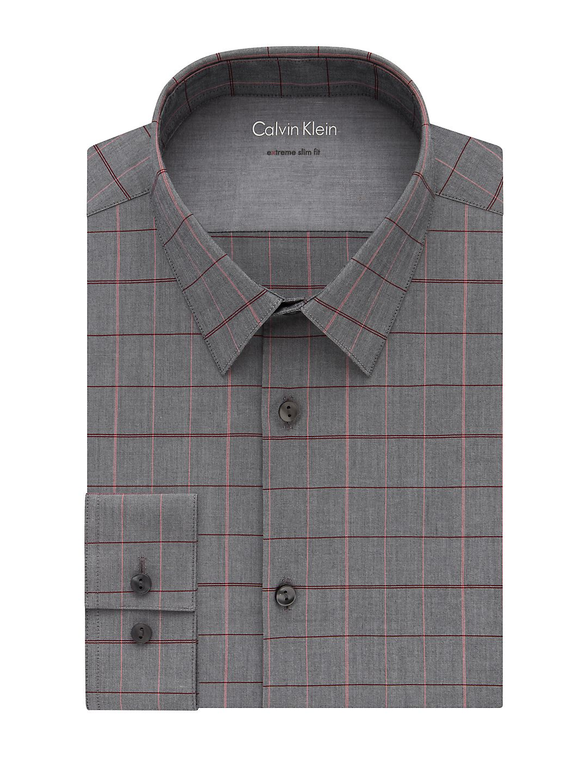 Extra Slim Fit Check Dress Shirt Walmart