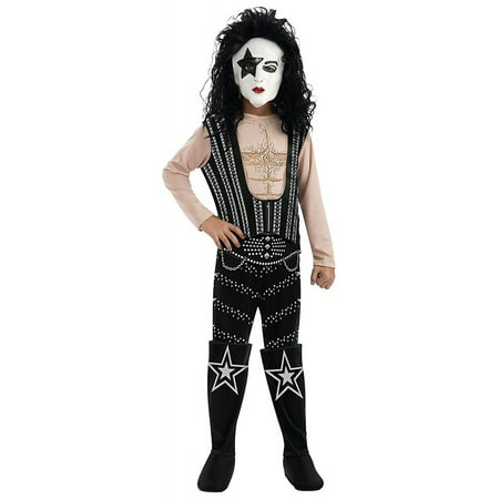 Kiss Child Costume The Starchild Paul Stanley - Medium - Paul Bunyan Costume