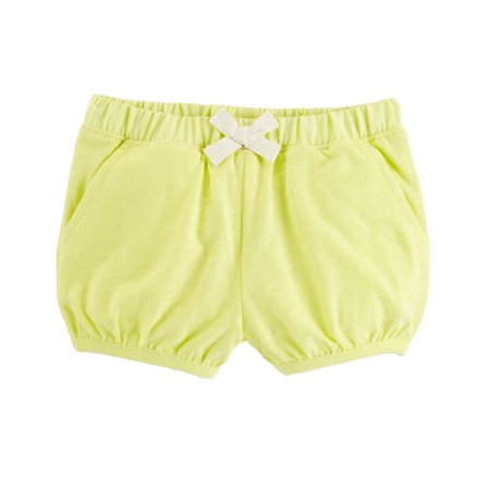 Carter's Baby Girls' Neon Slub Jersey Bubble Shorts,