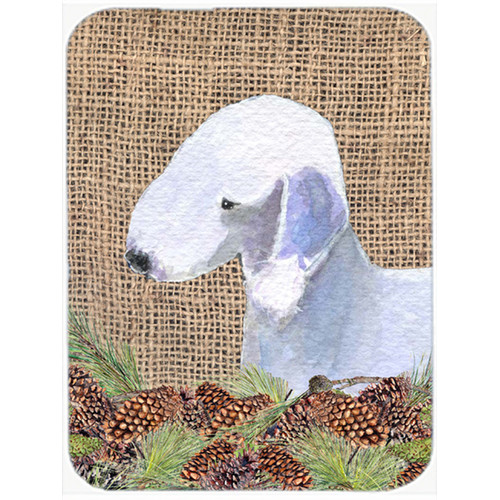 East Urban Home Bedlington Terrier Glass Cutting Board