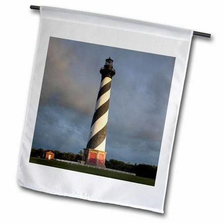 3dRose North Carolina, Buxton, Cape Hatteras Lighthouse Polyester 1