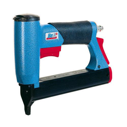BeA Fasteners Pneumatic Tacker 3/16'' Crown Upholstery Stapler (25mm Capacity)