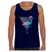04ac1a34151f4 Product Image Awkward Styles Flamingo Party Tank Top for Men Pink Flamingo  Tank Fitness Muscle Shirts for Men