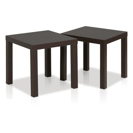 Furinno 2FRN001 Classic Cubic End Table, Set of 2, Multiple Option