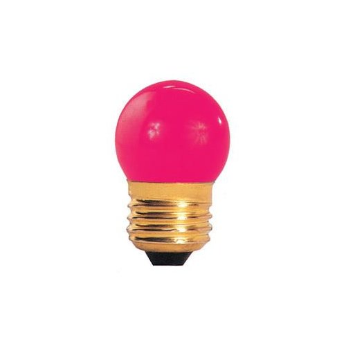 Bulbrite Industries Specialty 7.5W Pink String Replacement Light Bulb by Bulbrite Industries