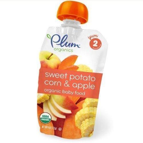 6 Packs : Plum Organics Baby Food, Organic Sweet Potato C...