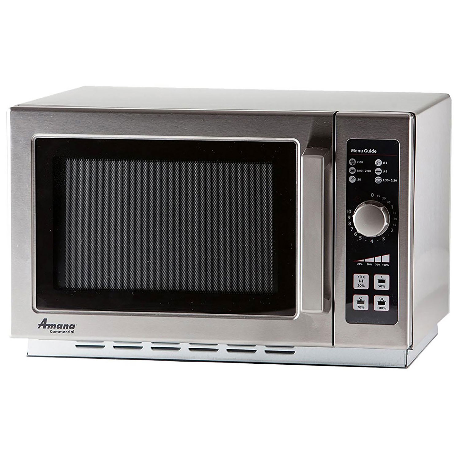 Commercial Microwave, 1.2 Cu. Ft., 1000 Watt, 10-Minute Dial, Lot of 1