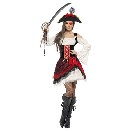 Glamorous Lady Pirate Adult Costume - Large](F-14 Halloween)