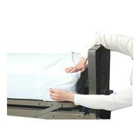 Grafco Plastic Mattress Covers - Zippered Closure Mattress Covers