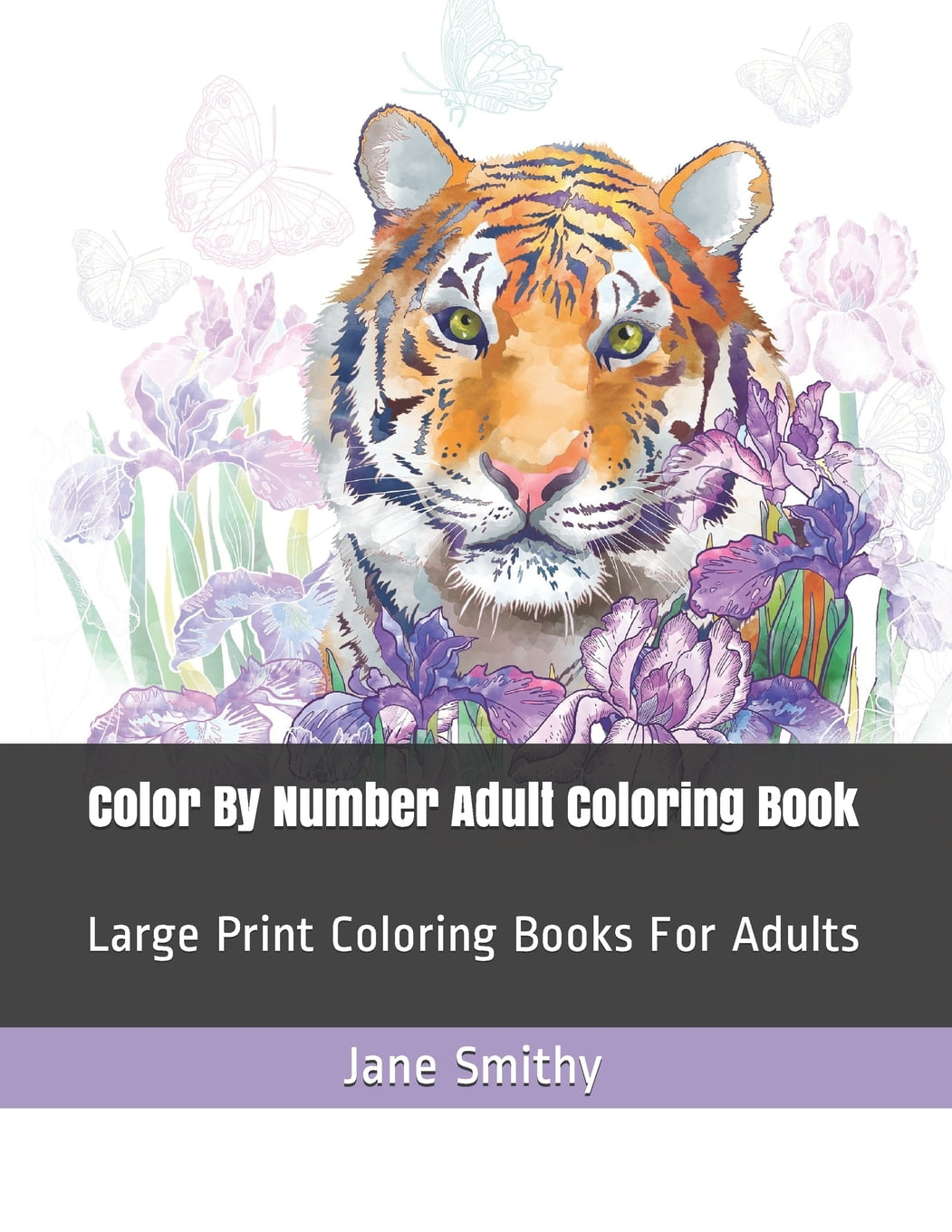 Adult Color By Numbers Color By Number Adult Coloring Book Large Print Coloring Books For Adults Paperback Large Print Walmart Com Walmart Com