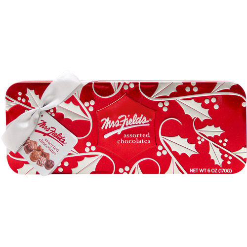 Mrs. Fields Assorted Choc. Red Tin