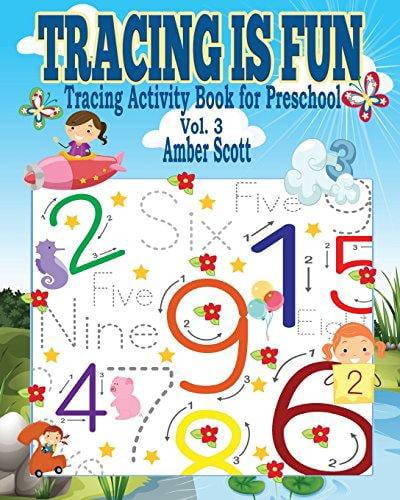 Tracing Is Fun (Tracing Activity Book for Preschool) Vol. 3 by