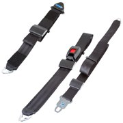 QRT Fixed Shoulder & Lap Non-Retractable Belt Kit