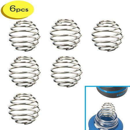 6 Small Stainless Wire Shaker ball Wire Mixer Whisk Ball for zulu ello glass