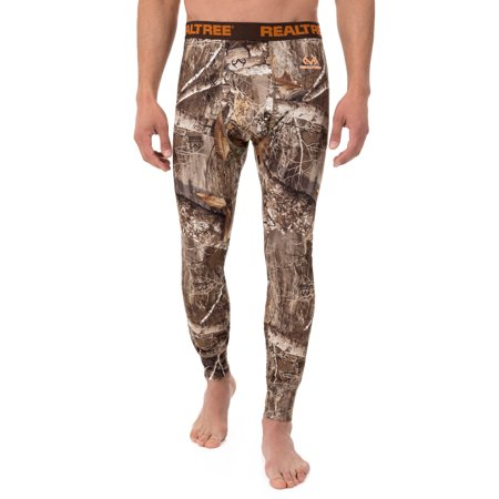 Men's Camo Fitted Baselayer Thermal Underwear