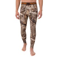 Men's Camo Fitted Baselayer Thermal Underwear Bottom