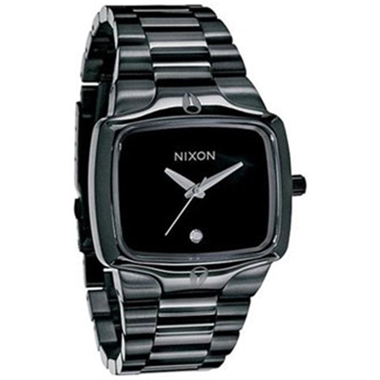 Nixon Men's Player A140001 Black Stainless-Steel Quartz W...