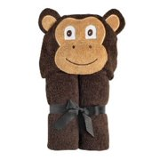Yikes Twins Monkey Hooded Towel 2-8 Years Child
