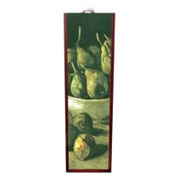 Artist Vincent Van Gogh's Still Life with Earthen Bowl and Pears Painting Wine Box Rosewood with Slide Top - Wine Box Holder - Wine Case Decoration - Wine Case Wood - Wine Box Carrier