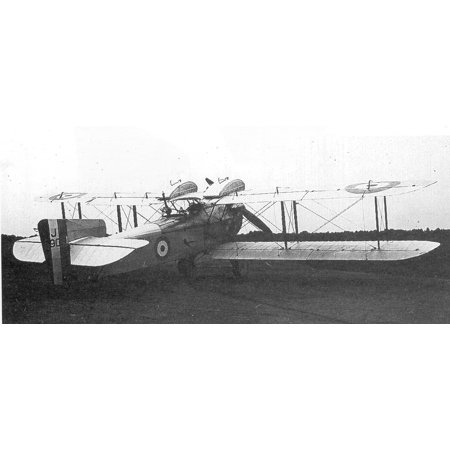 LAMINATED POSTER Fairey Fawn J6908 1923, lengthened fuselage anf over wing fuel tanks Poster Print 24 x 36