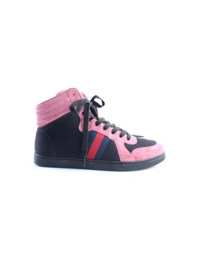 5d64923578e Product Image High-Top Web Sneaker (Mens 8.5 Womens 10) 32GR0515. Gucci