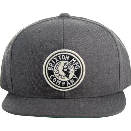Brixton - Rival Snapback Hat - Walmart.com 6d06818b34a