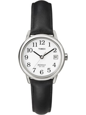 Timex Women's Easy Reader Date 25mm Leather Strap Watches