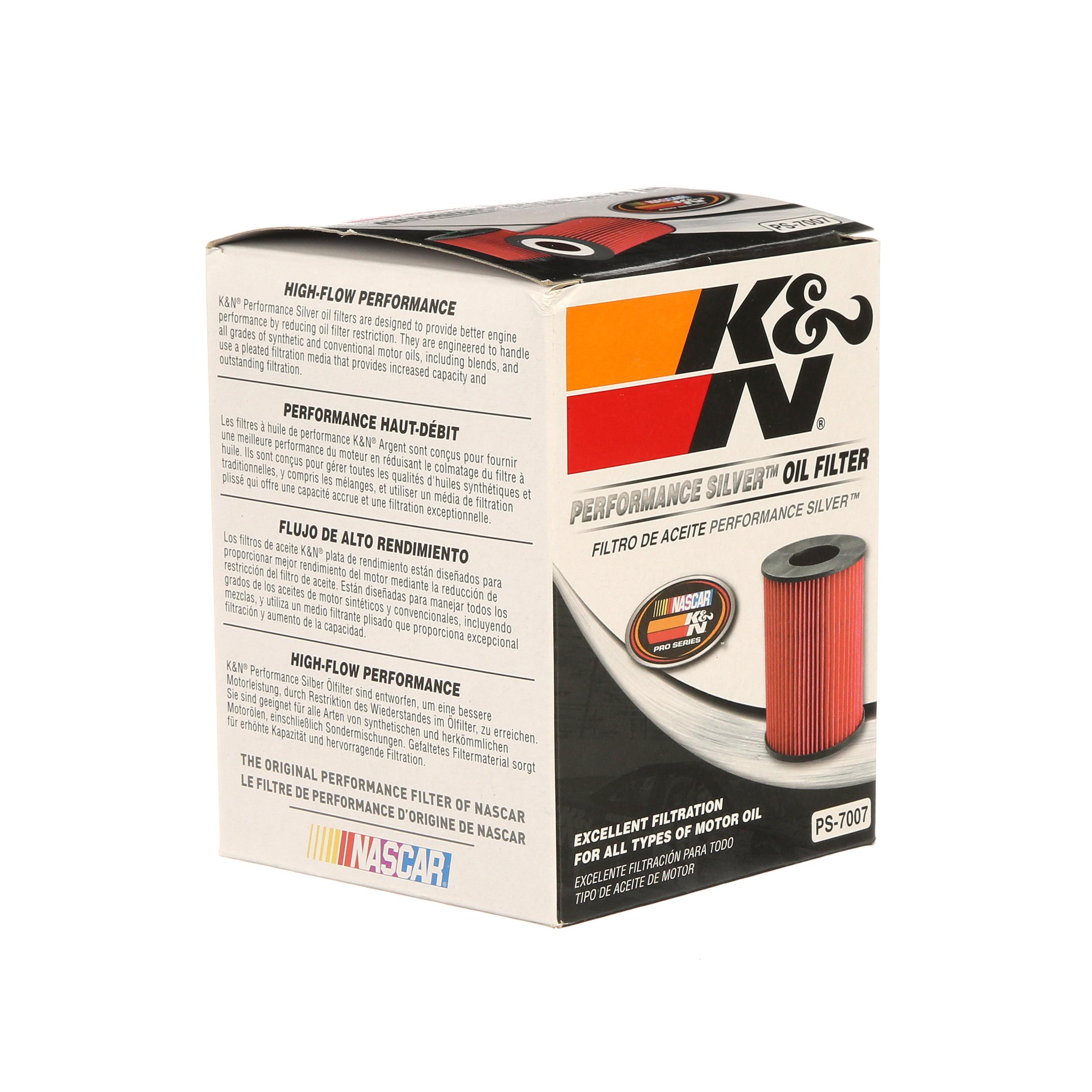 Engine Oil Filter K/&N PS-7007