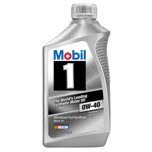 Mobil 1 0w 40 Full Synthetic Motor Oil 1 Qt Walmart Com
