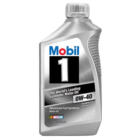 Mobil 1 0W-40 Full Synthetic Motor Oil, 1 qt.